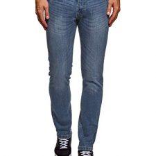oodji Ultra Hombre Vaqueros Básicos de Tiro Medio Pantalones Vaqueros para hombre