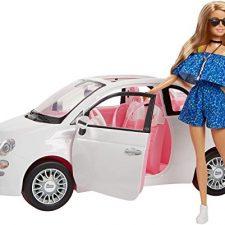 Coche Fiat 500 Barbie Barbie