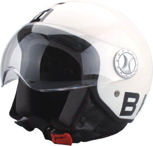 bhr demi jet casco diseo blanco talla l cm