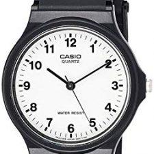 casio reloj analgico para hombre de cuarzo con correa en resina mq bllgf