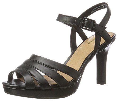 Clarks Mayra Poppy, Sandalias de Tacón para Mujer Zapatos de tacón Clarks