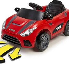 feber my real car coche elctrico a bateria interactivo para nios y nias