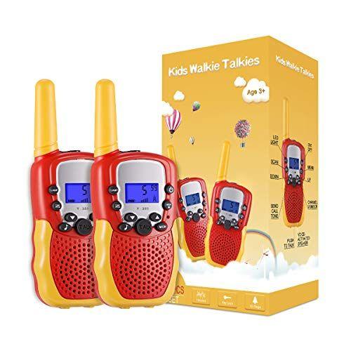 Walkie Talkie para Niños 8 Canales Juguetes electrónicos