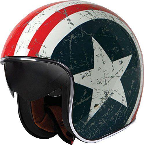 Origine Helmets Jethelme Sprint Rebel Star – Casco de moto Ropa para motoristas