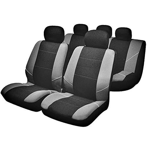 Juego de fundas para asientos de coche, color plateado Accesorios para coche