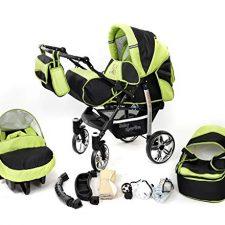 Baby Sportive – Sistema de viaje 3 en 1, silla de paseo bebé Carritos y sillas de paseo para bebé