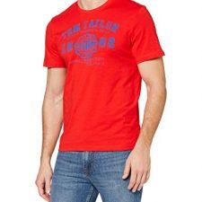 Camiseta para Hombre Tom Tailor Logo T-Shirt Moda hombre