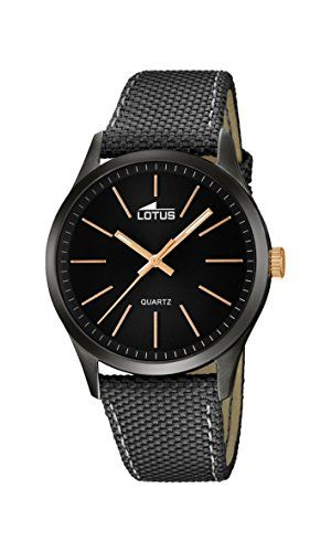 lotus reloj de pulsera hombre color gris