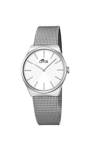 Lotus 18288/1 – Reloj analógico con mecanismo de cuarzo para mujer Relojes