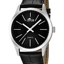 Lotus  15961/3 – Reloj de cuarzo para hombre, con correa de cuero Relojes