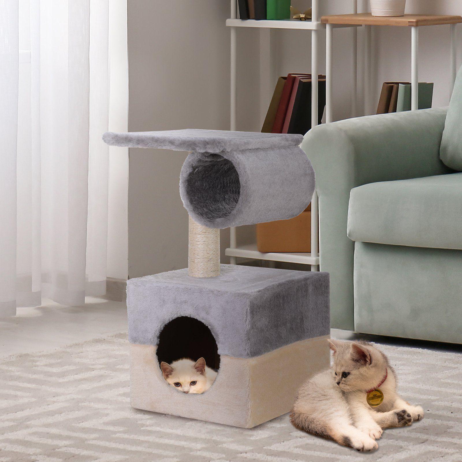 PawHut Rascador – Árbol para Gatos Productos para Mascotas