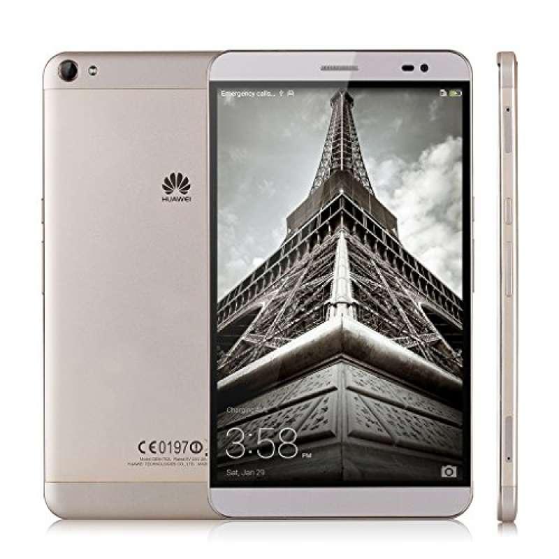 "Huawei X2 MediaPad Tableta 7.0"" Smartphone Libre 4G LTE (Android 5.0 EMUI 3.0 Hisilicon Octa Core, 32GB, Cámara 13MP, Dual SIM, WIFI, GPS, Bluetooth) Tabletphone Celular, Dorado"