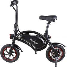 Windgoo Bicicleta Eléctrica 36V Plegable 12″ Patinetes Eléctricos