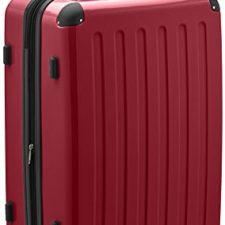 Hauptstadtkoffer – Maleta rígida con cierre TSA, color rojo Maletas y Trolleys