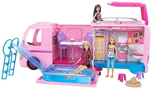 barbie supercaravana de barbie autocaravana barbie mattel fbr