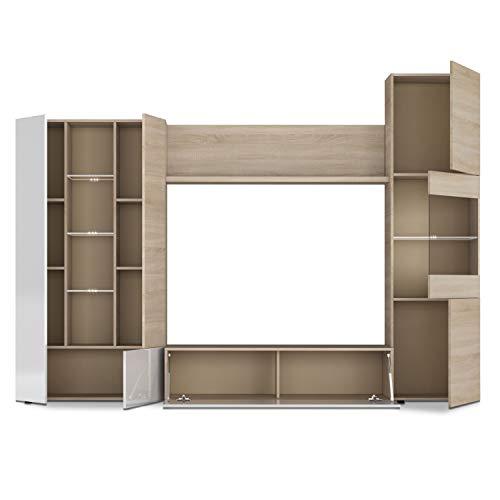 Habitdesign Mueble de Comedor, Madera, Grande