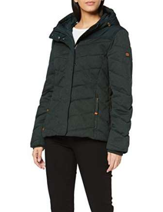 Camel Active Womenswear 2r72 Chaqueta, Verde (Bottle Green 36), 48 (Talla del...