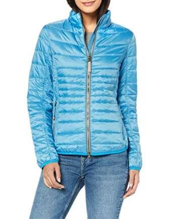 Camel Active Womenswear 330920 Chaqueta, Azul (Blue 47), 44 (Talla del Fabricante:...