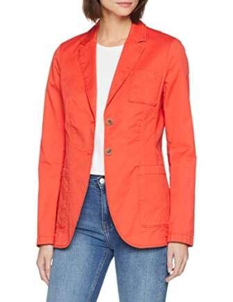 Camel Active Womenswear 342905 Chaqueta de Traje, Rojo (Grenadine 50), 36 (Talla...