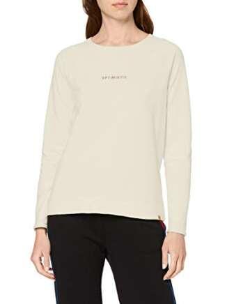 Camel Active Womenswear Sweatshirt Sudadera, Blanco (Pearl 2), S para Mujer