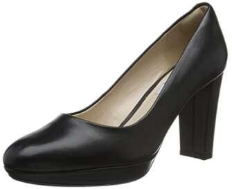 Clarks Kendra Sienna, Zapatos de Tacón Mujer, Negro (Black Leather), 40 EU