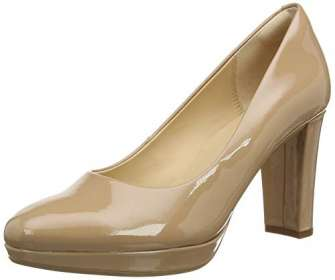 Clarks Kendra Sienna, Zapatos de Vestir par Uniforme Mujer, Patente de Bombones,...