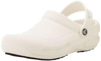 Crocs Bistro, Zuecos Unisex Adulto, Blanco (White), 37/38 EU