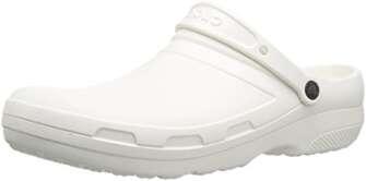 Crocs Specialist II Clog, Unisex Adulto Zueco, Blanco (White), 39-40 EU