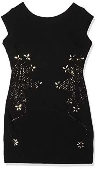 Desigual Vest_Benedetto Vestido, Negro (Black 2000), XX-Large para Mujer