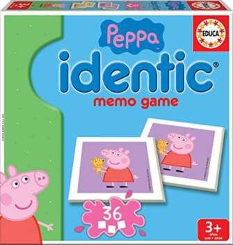 Educa- Identic Peppa Pig Juego Educativo para Bebés, Multicolor (16227)