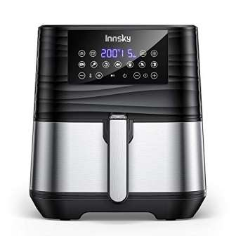 Innsky 5,5L 1700W freidora sin Aceite con 7 programas + función de...
