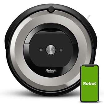 iRobot Roomba e5154 Wifi, Robot aspirador óptimo para mascotas, aspiración alta potencia,...