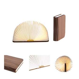 LEDR® - Lámpara de libro, lámpara LED, lámpara de mesa de noche,...