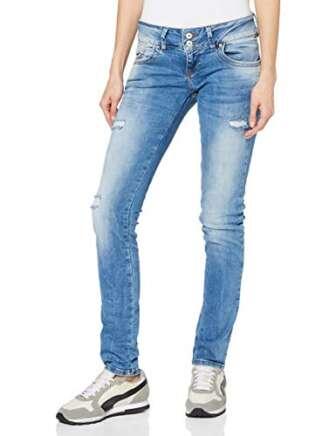 LTB Jeans Molly Vaqueros Slim, Azul (RITNOBLUE X Wash 52206), 24W x...