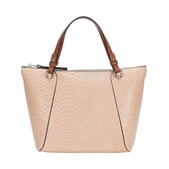 Parfois - Bolso Shopper Grabado Animal Con Interior Extraíbl - Mujeres -...