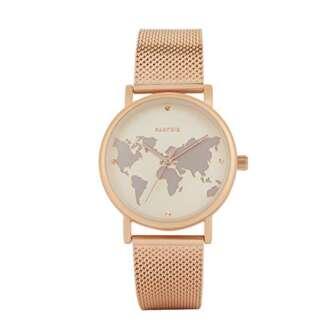 Parfois - Reloj Casual Rose Gold Tray - Mujeres - Tallas Única...