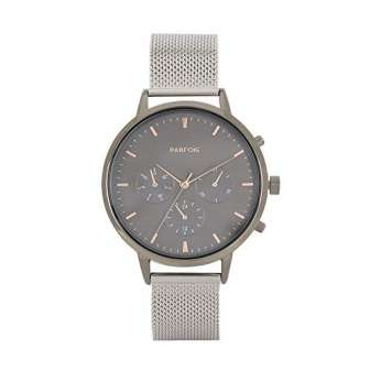 Parfois - Reloj Casual Silver Tray - Mujeres - Tallas Única -...