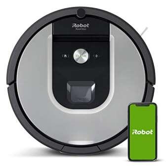 Robot aspirador iRobot Roomba 971 Alta potencia, Recarga y sigue limpiando, Óptimo...
