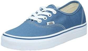 Vans Authentic, Zapatillas de Tela Unisex, Azul (Blue/Marshmallo), 36 EU
