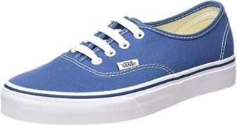 Vans Authentic, Zapatillas de Tela Unisex, Azul (Blue/Marshmallo), 44 EU