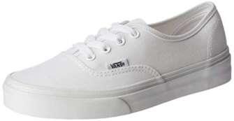 Vans Authentic, Zapatillas de Tela Unisex, Blanco (True White), 42.5 EU