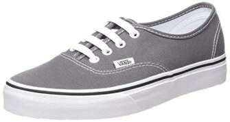 Vans Authentic, Zapatillas de Tela Unisex, Gris (Pewter/Black), 38 EU, Gris (Pewter/Black),...