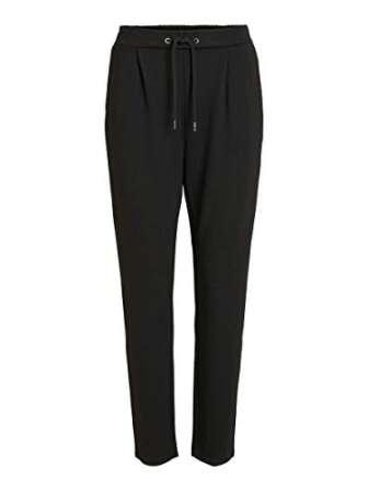 Vila Clothes VICLASS Pant-Noos Pantalones, Negro (Black), 42 (Talla del Fabricante: X-Large)...