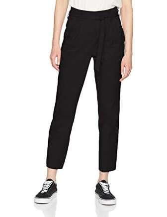 Vila Clothes Visofina HW 7/8 Pant-Noos Pantalones, Negro (Black), W33 (Talla del...